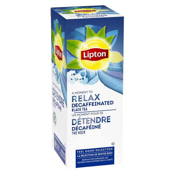 Lipton Decaffeinated Black Tea 28 Count