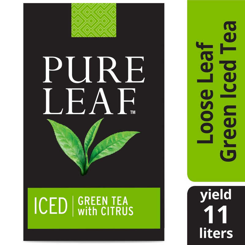 Pure Leafᵀᴹ Iced Loose Tea Pouch Green with Citrus 3 oz, 24 count