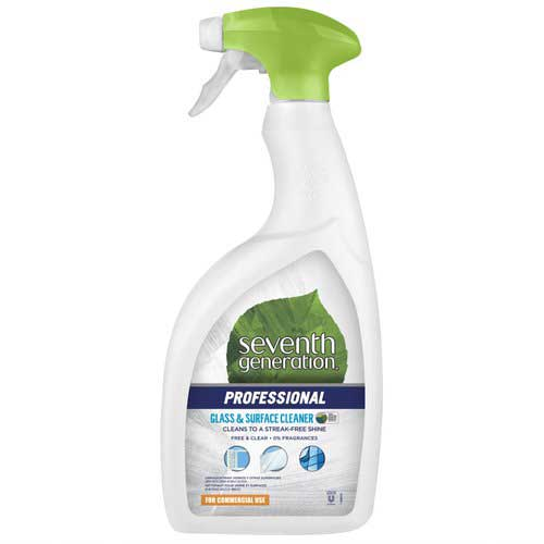 Seventh Generation Professional Glass & Surface Cleaner Spray 946mL