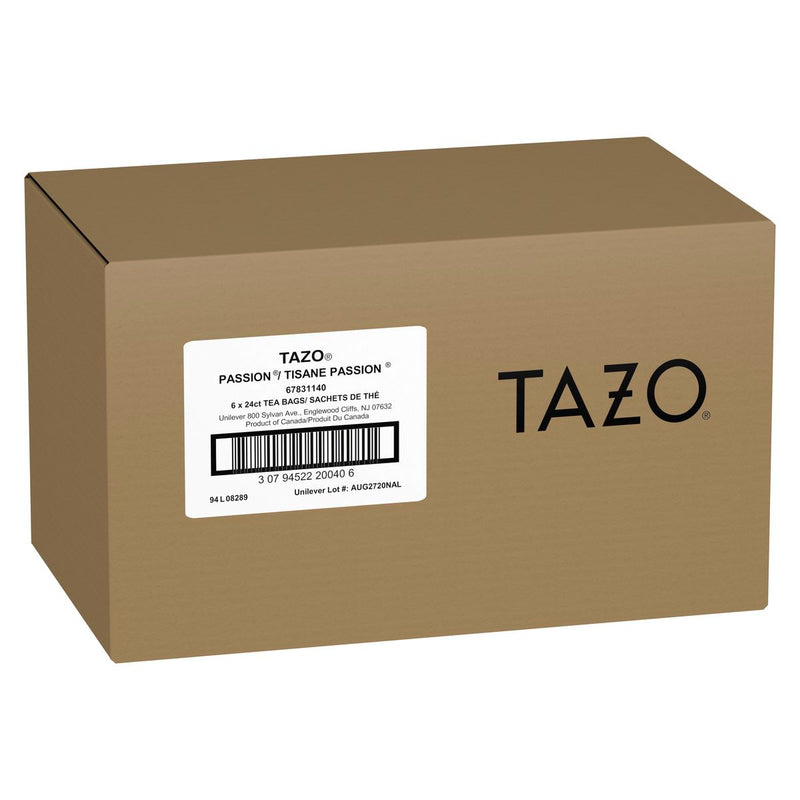 Tazo Hot Tea Filterbag Passion 24 count