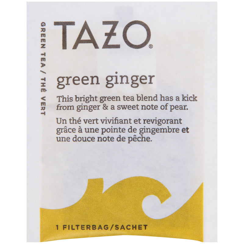 Tazo Hot Tea Filterbag Green Ginger 24 count