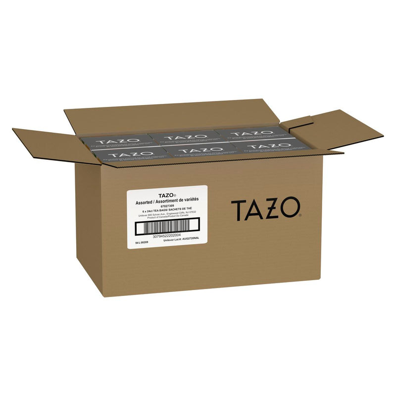 Tazo Hot Tea Filterbag Assorted 24 count
