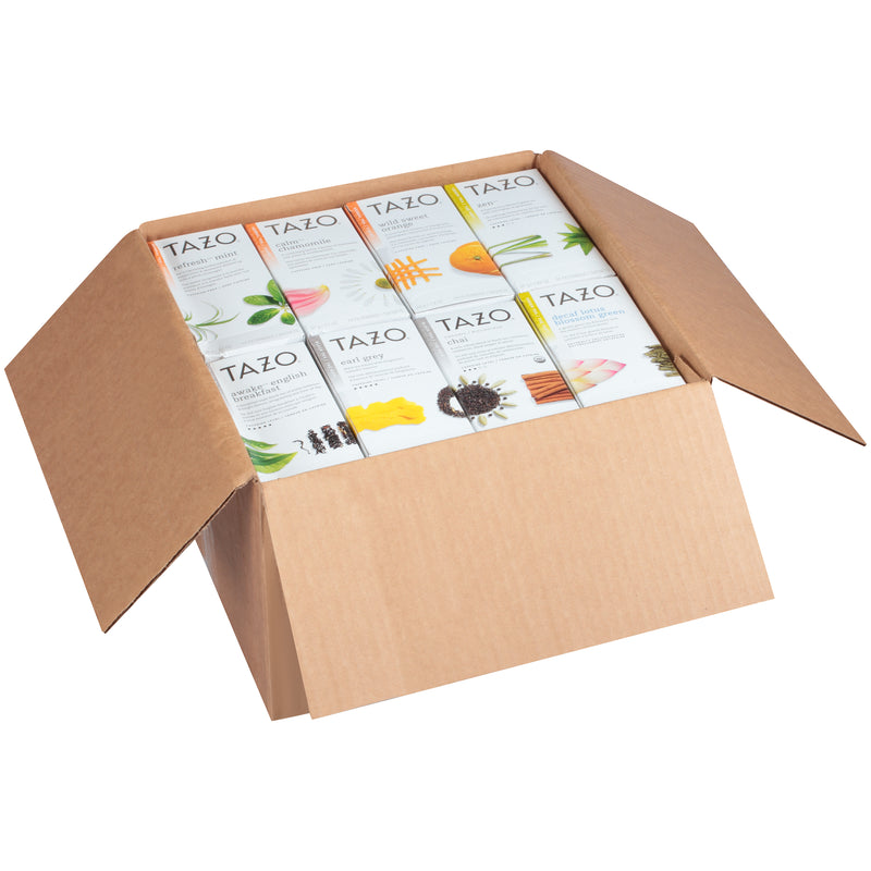 TEMPORARILY OUT OF STOCK: Tazo Hot Tea Filterbag Assorted Variety Pack 24 count Pack of 16