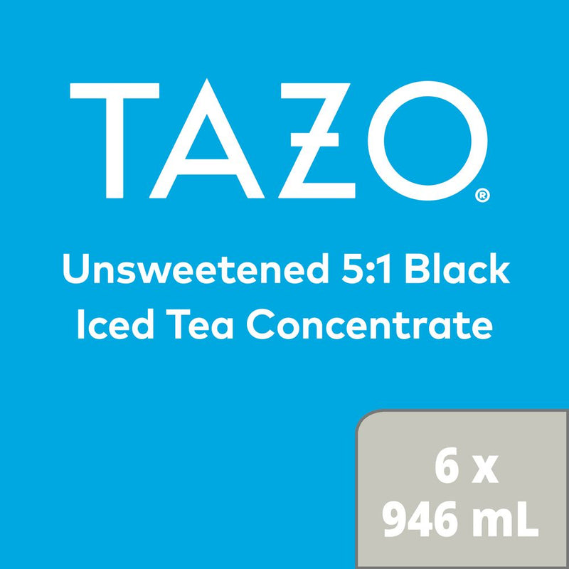 Temporarily Out of Stock: TAZO Iced Tea Concentrate Black 5:1 946 ml Pack of 6