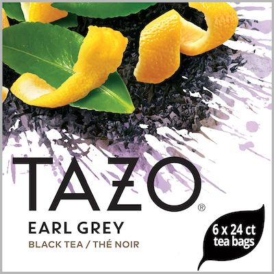 Tazo Hot Tea Filterbag Earl Grey 24 count