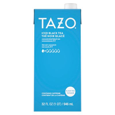 TAZO Iced Tea Concentrate Black 5:1 946 ml Pack of 6