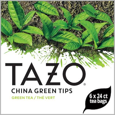 Tazo Hot Tea Filterbag China Green Tips 24 count