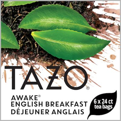Tazo Hot Tea Filterbag Awake English Breakfast 24 count