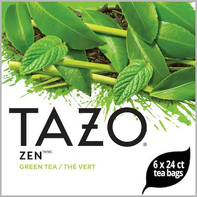 Tazo Hot Tea Filterbag Zen Green 24 count