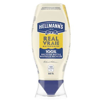 Hellmann's® Real Mayonnaise Squeeze Bottle 340 ml