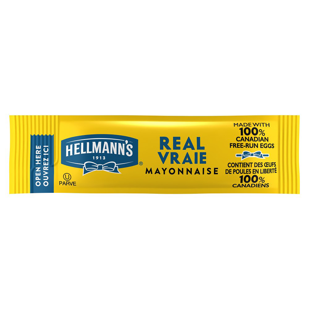 Hellmann's® Real Mayonnaise Stick Pack 210 x 11 ml