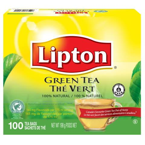 Lipton Green Tea 100 Count