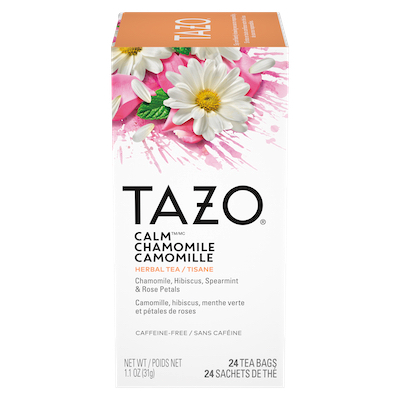 Tazo Hot Tea Filterbag Calm Chamomile 24 count