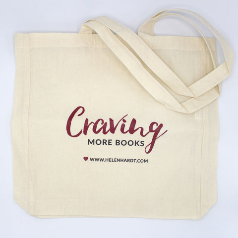 Craving More Books Totebag