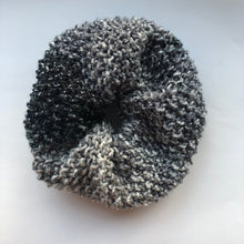 Glitter Knitted Hair Scrunchie