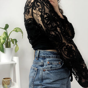 Lace Sequinned Jacket
