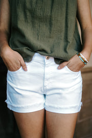 Hailey Short White
