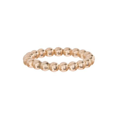 Classic Gold 3MM Bead Ring