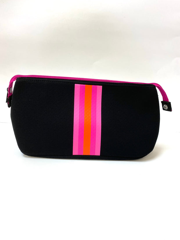 "Erin ""Pink/Orange"" Cosmetic Bag"