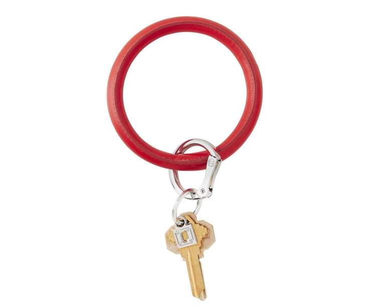 "Vegan Big O Key Ring ""Cherry On Top"""