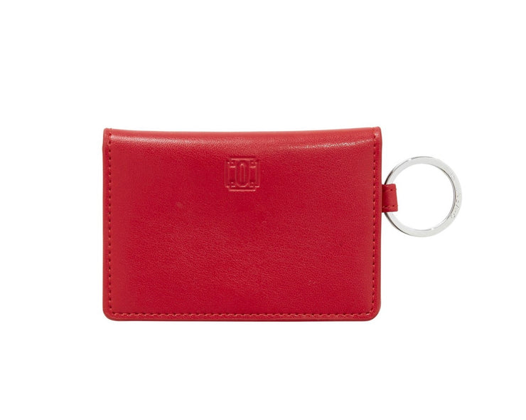 "Leather ID Case ""Cherry On Top"""