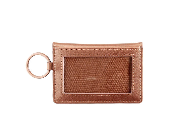 "Leather ID Case ""Rose Gold"""