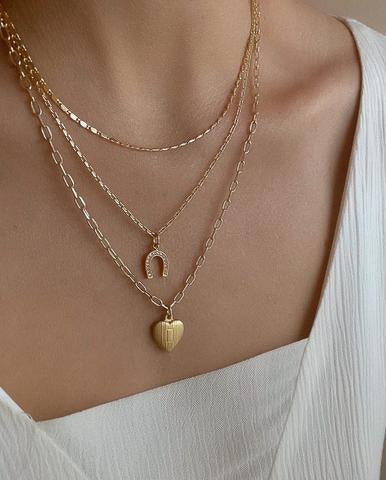 3 Layer Fortune Necklace