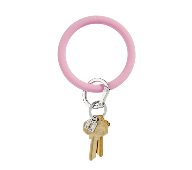 "Silicone Big O Key Ring ""Cotton Candy"""