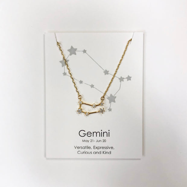 Star Constellation Zodiac Necklace