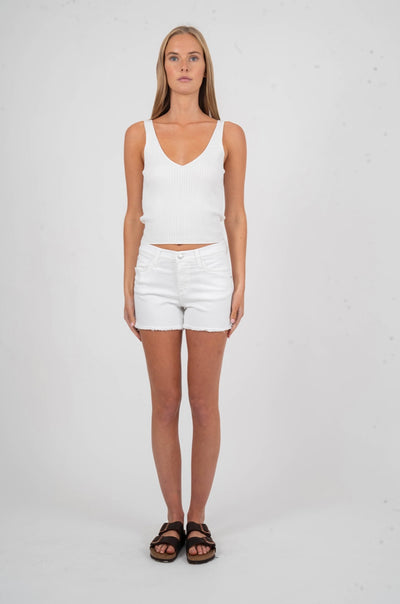Kandie High Rise Cut Off Short