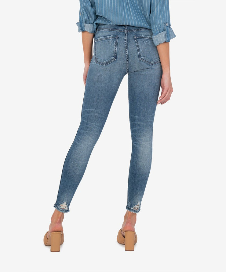 "Connie High Rise Ankle Skinny in ""Manner"""