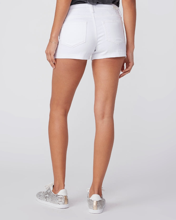 "Jimmy Jimmy Raw Cuff Shorts ""Crisp White"""