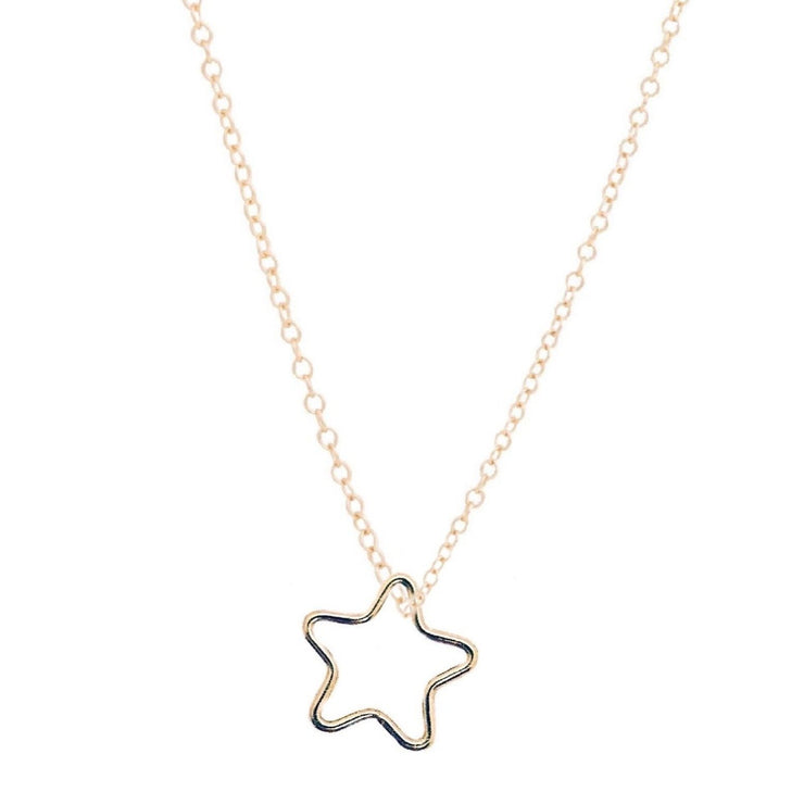 "16"" Necklace Gold Star Charm"
