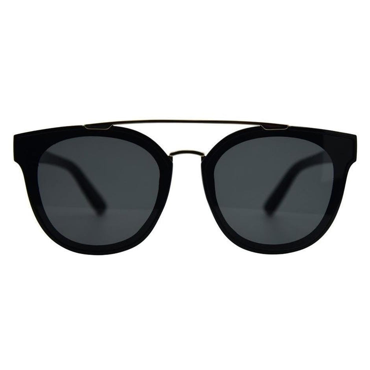 "Topanga Polarized Sunglasses ""Black Smoke"""