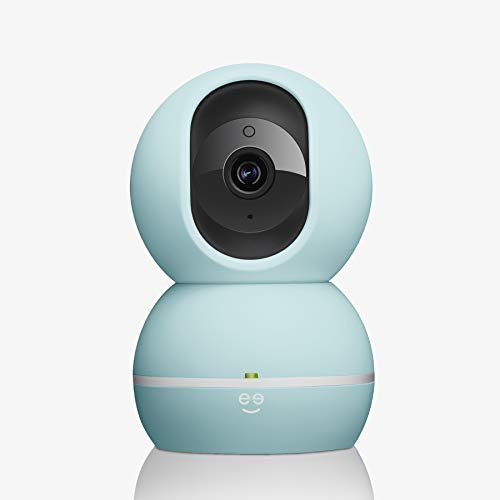 PEEKABOO 1080P HD Smart Baby Camera, Pastel Blue