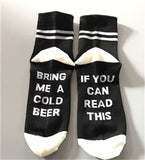 If you can read these socks