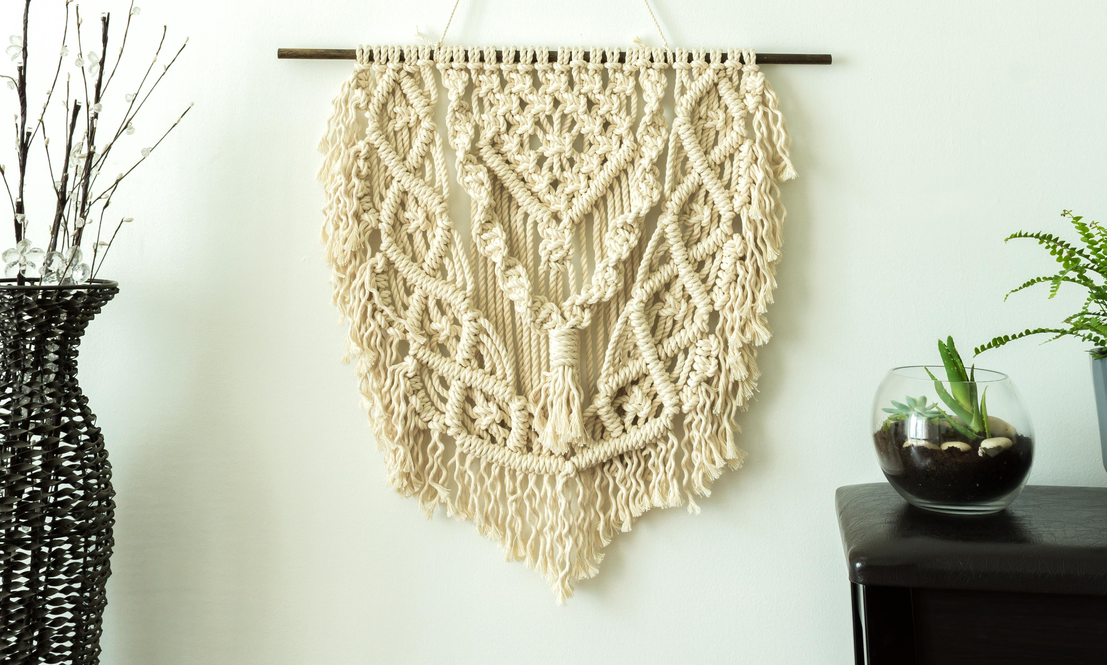 Funky Macrame Wall Decor Elaboration - Wall Art Collections ...