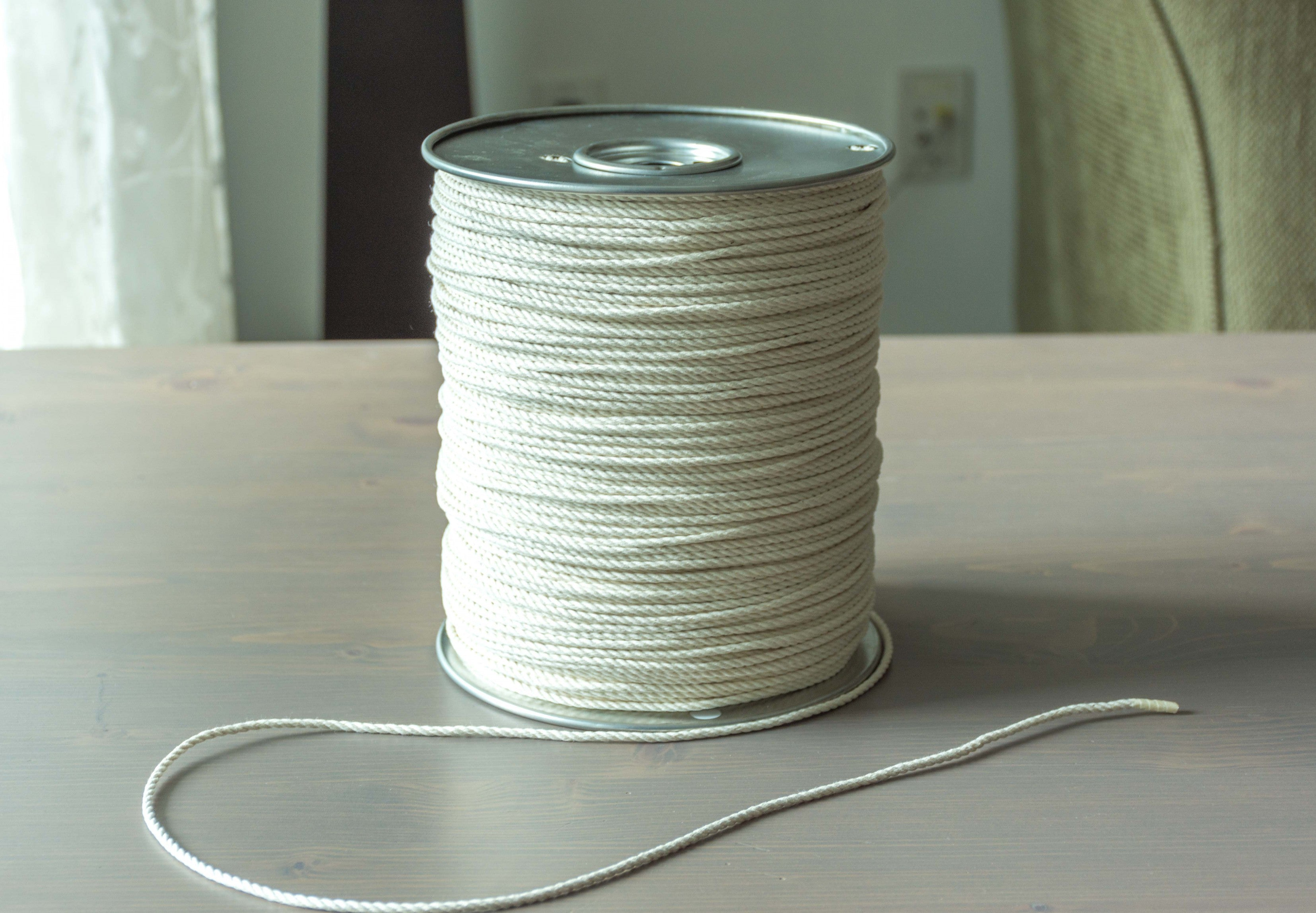 2MM Twisted Macrame Cotton Cord