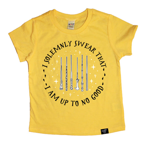 SOLEMNLY SWEAR YELLOW TEE