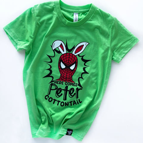COTTONTAIL NEON GREEN TEE
