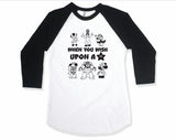 UPON A STAR RAGLAN