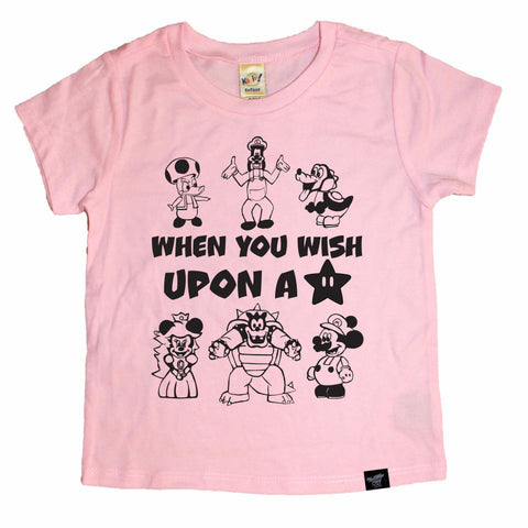 UPON A STAR PINK TEE