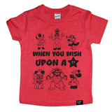 UPON A STAR RED TEE