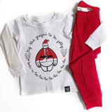 BE JOLLY PAJAMA SET