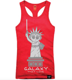 GALAXY THAT I LOVE RED TANK