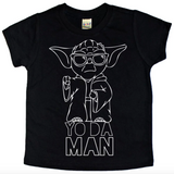 THE MAN BLACK TEE