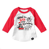 THE SITH STOLE CHRISTMAS RAGLAN
