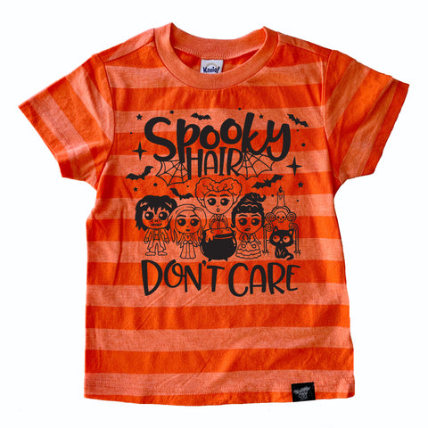 SPOOKY HAIR STRIPE TEE
