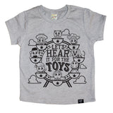 THE TOYS GRAY TEE