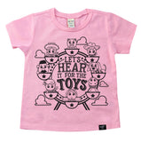 THE TOYS PINK TEE